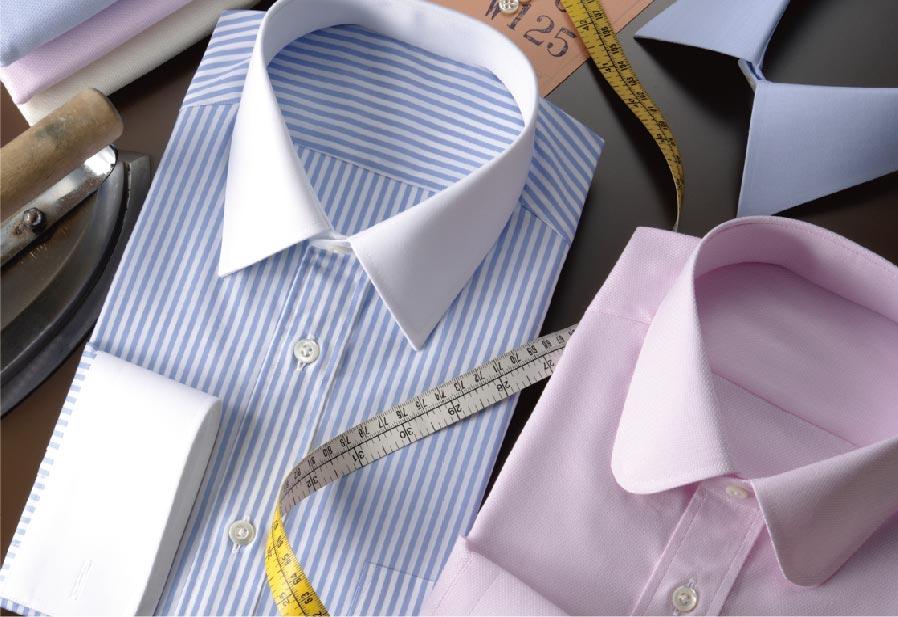 SUIT SELECTでは、ビジネスファッション専門店としてワイシャツだけで20種類以上ものサイズを取り揃えている