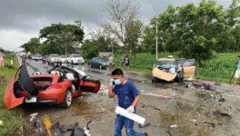 雨中の速度超過が招いた悲劇と疑惑 - ワイズデジタル【タイで生活する人のための情報サイト】