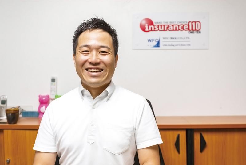 バンコク支店を統括するコンサルタントの伊奈純一氏。豊富な知識をもとに、丁寧に無料相談に応じてくれる