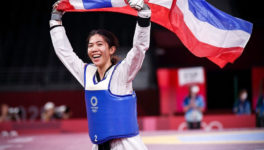 東京五輪女子テコンドーでタイ人選手が初の金メダル - ワイズデジタル【タイで生活する人のための情報サイト】