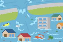 バンコクを含む9都県に洪水への注意喚起