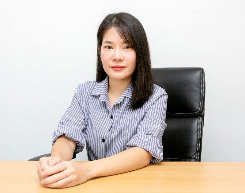 คุณณัฏฐณิชา กิตติพลารักษ์ Sales Executive - AMANO THAI INTERNATIONAL CO., LTD.