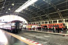今日から、タイ国鉄の18路線が運行再開