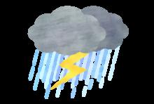 明日から明後日にかけバンコクでも大雨の可能性